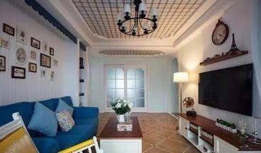 世茂公元地中海风格全包住宅装修
