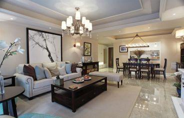 东海末名园美式风格复式住宅装修