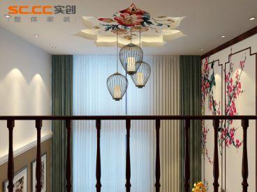 万豪美墅城丨120平米中式风格装修
