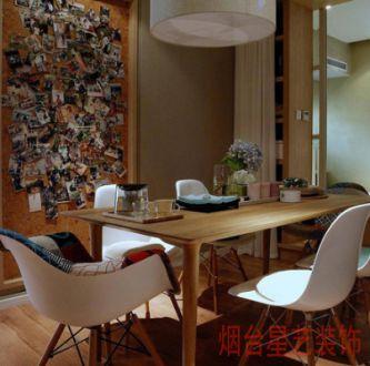 龙腾国际花园简约风格98平全包住宅装修
