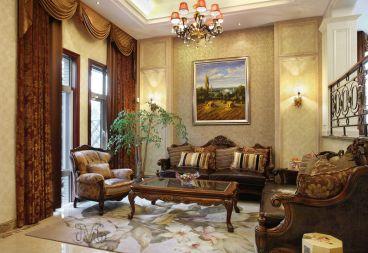 保利东湾简欧风格全包三居室住宅装修