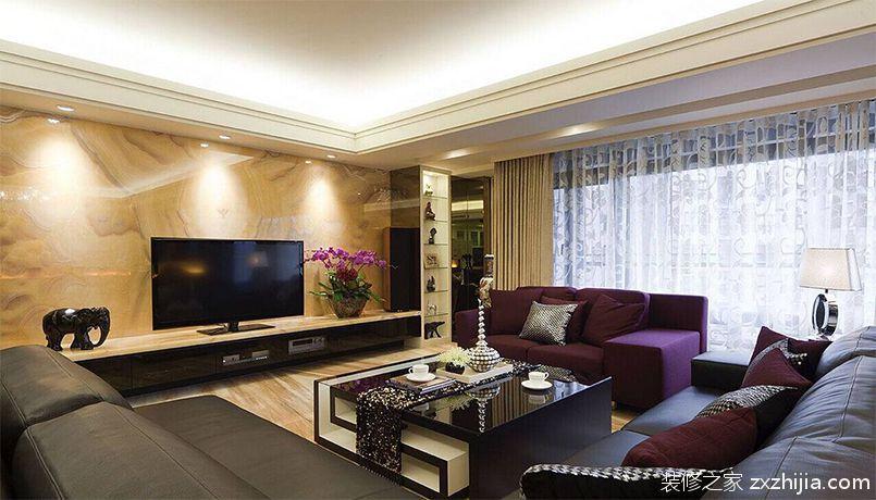银亿尚上城简欧风格全包四居室装修
