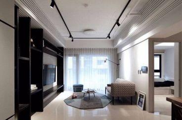 瑞景天城简约风格全包80平公寓装修