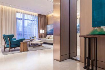 鑫苑名家简约风格全包三居室装修案例