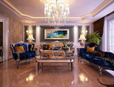 茂华欧式古典风格全包住宅装修