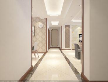 晨晟世纪城简约风格全包三居室装修