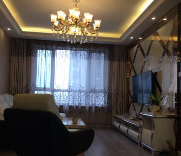 远洋广场时尚混搭二室二厅装修效果图