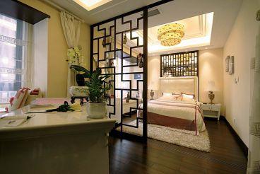 雅仕兰庭新中式风格140平家装案例