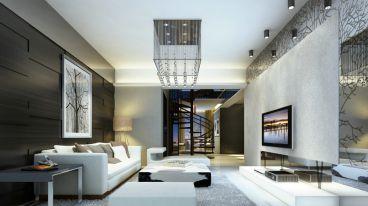 倾城之恋186平六室二厅现代简约装修案例