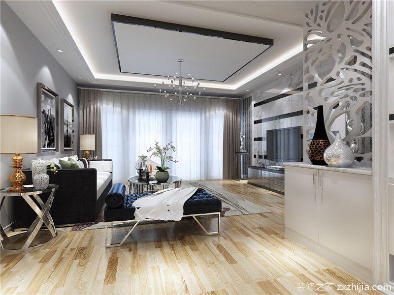 龙湾国际120平米现代简约风格