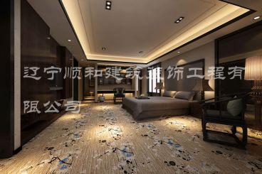 宾馆套房欧式古典风格装潢