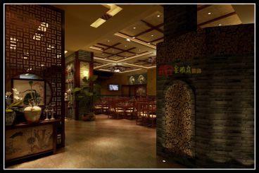 御昌南窑火菜新中式风格餐饮空间设计