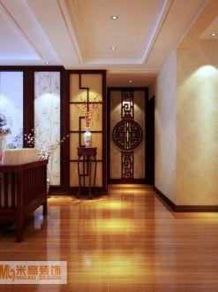 瀚唐139新中式风格全包住宅装修