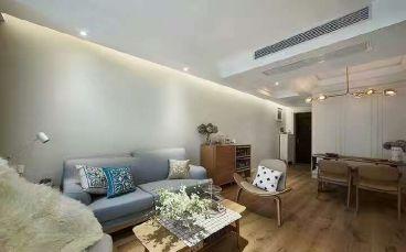 英伦国际90平米两室两厅北欧风格