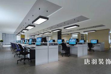 华领国际大厦简约风格办公室装修