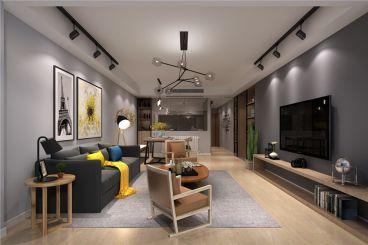 御新界三期--北欧风格三居室装修