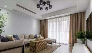 清河公寓简约风呢哥哥90平全包住宅装修
