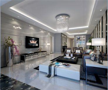 成都A区--现代风格130平三居室装修