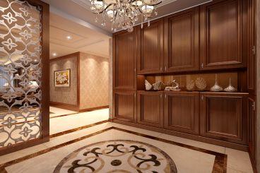 中港城美式风格半包120平家装