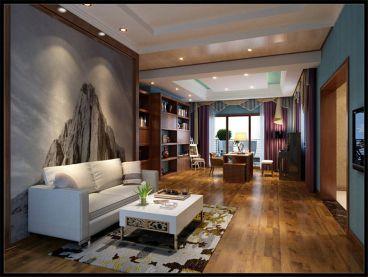 皇冠国际--新中式风格全包住宅装修