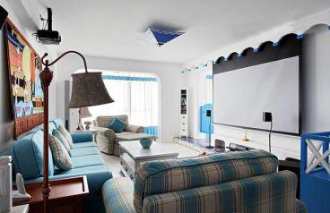 英郡年华地中海风格100平住宅实案