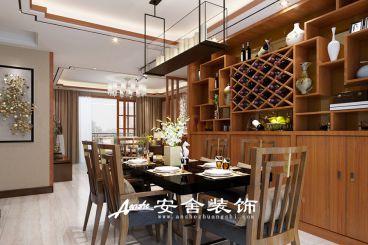 卓达太阳城 新中式风格130平装修