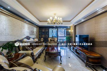 龙湖滟澜山125平三居室新古典风格家装