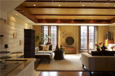 熙龙山院东南亚风格复式住宅装修