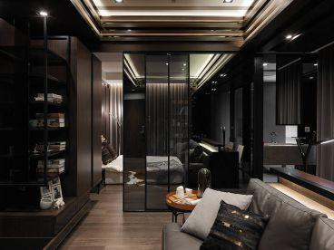 台北信义香榭简约风格半包50平公寓装修