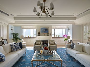华润城温馨洋溢美式140㎡三居室装修