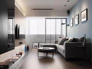 格林云墅时尚混搭风格三居室125平装修