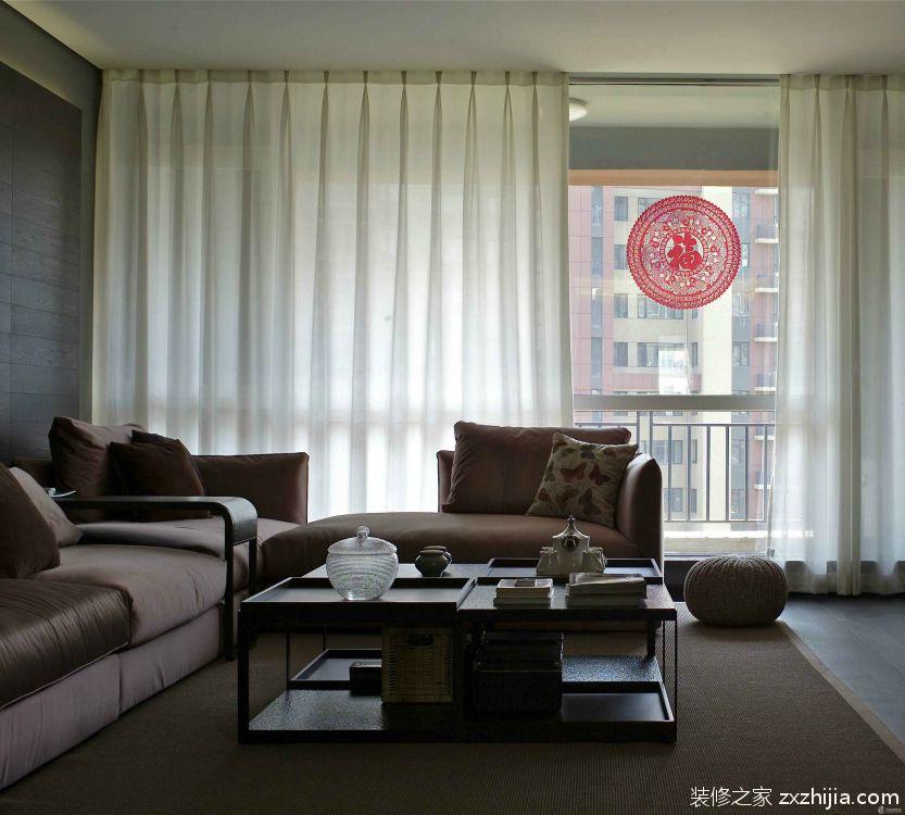 龙湖U城三室二厅现代简约装修效果图