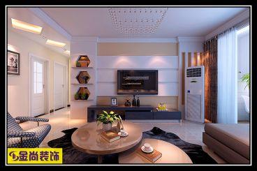 中海·华山珑城116平现代简约风格