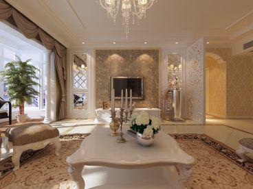 绿城诚园89平二室二厅欧式古典装修效果图