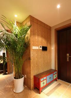 和馨佳园138平三室二厅新中式装修效果图