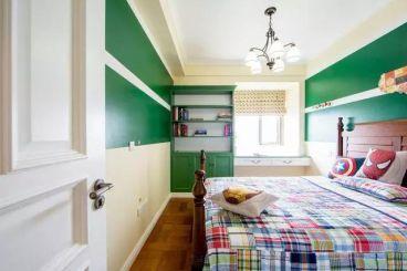 80平二室二厅欧式古典装修效果图