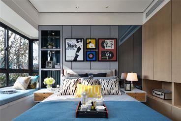 长沙60平二室二厅现代简约装修效果图