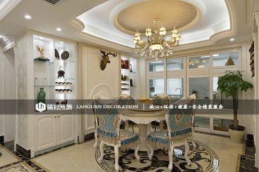 回龙雅苑127平三室二厅简欧装修效果图