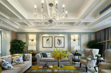 长沙150平四室二厅新古典装修效果图