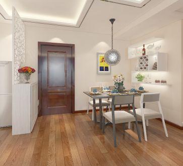 金辉115平三室二厅现代简约装修效果图