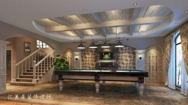 天悦湾450平六室四厅美式装修效果图