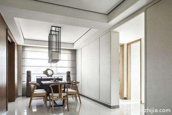 碧水天源108平三室二厅现代简约装修案例