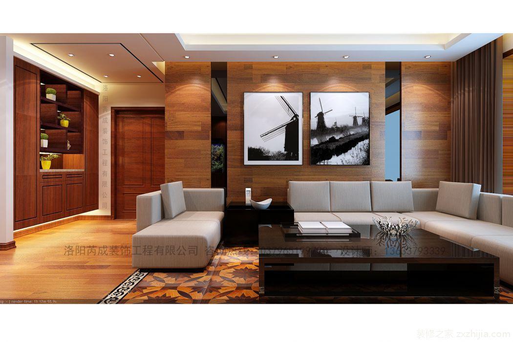 盛唐至尊180平四室二厅港式装修效果图