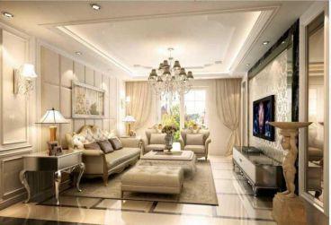 辰光小区90平二室二厅欧式古典装修效果图