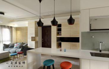 擎天半岛89平二室二厅现代简约装修效果图