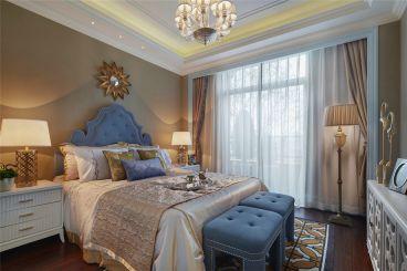 长沙120平四室二厅美式装修效果图