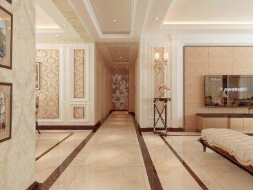 御源林城127平三室二厅简欧装修效果图
