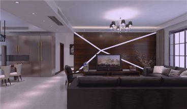 国仕山150平四室二厅港式装修效果图