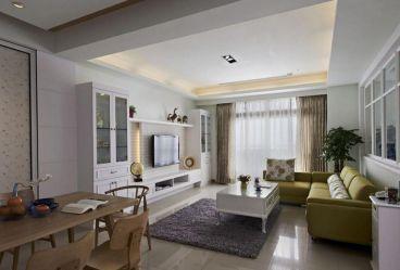 丽景苑80平二室二厅现代简约装修效果图