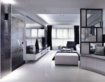 现代简约风格81平半包住宅装修案例